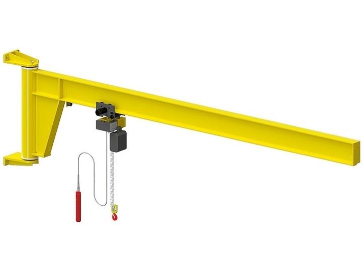 Консольный настенный электрический кран